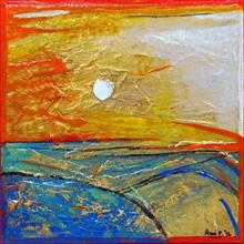 Paintings by Ami Patel - Mumbai - Rising sun