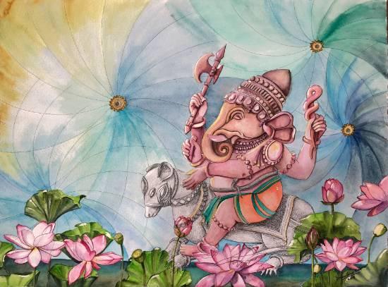 Indiaart - Ganesha Artwork