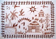 Painting  by Priyanka Ambunath Govind - Warli Art