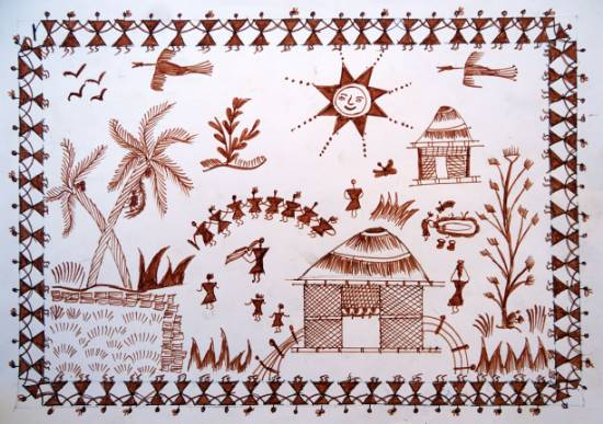 Khula Aasmaan - Tribal Art