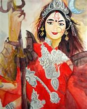 Painting  by Khushi Sharma - Devi