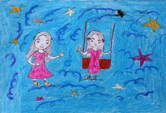 Painting  by Amisha Sandip Lahage - Childrens