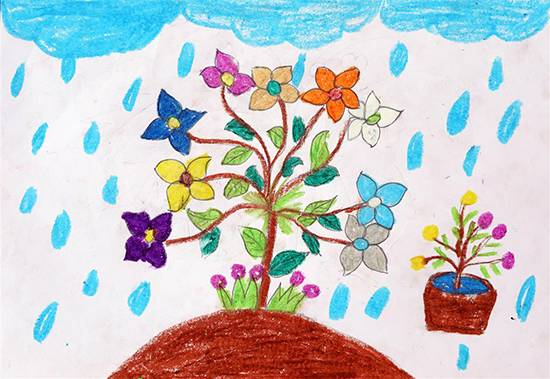 Painting  by Amisha Sandip Lahage - Plant Tree