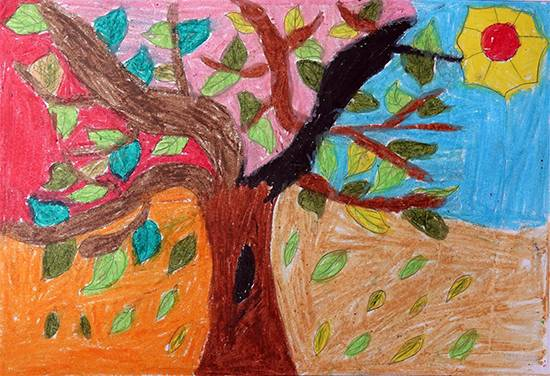Painting  by Amisha Sandip Lahage - Tree