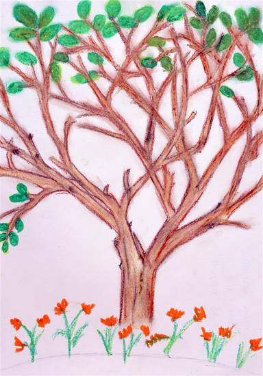 Painting  by Radhika Mukesh Shirgade - Tree