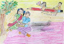 Painting  by Renuka Mansu More - Learning Childrens