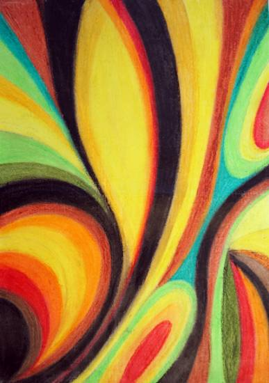 Painting  by Teju Tanaji Patil - Abstract -5