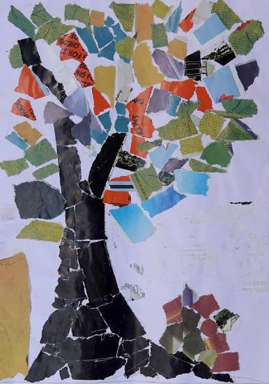 Painting  by Ujwala Janu Thakare - Tree