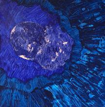 Artificial Intelligence - 6, Painting by Prakash Bal Joshi