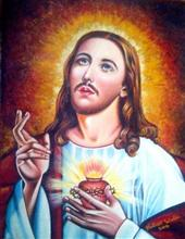 Christ - In stock painting
