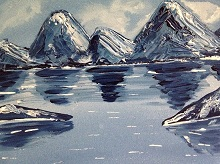 Mountains - In stock painting