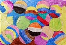 Painting  by Jagruti Ibhad - Circular abstract design