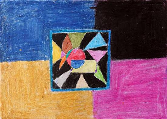 Painting  by Suraj Chaudhary - Object drawing - geometric shapes