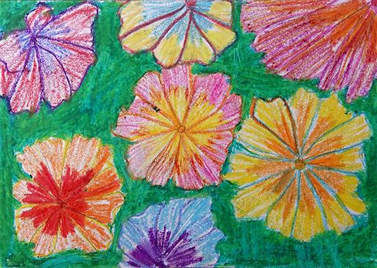 Painting  by Vaishali Mandal - Flowers