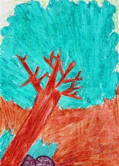 painting by Vaishali Mandal - Tree