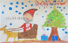 Painting  by Mehak Borse - New Year Drawing
