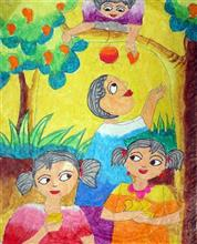 Painting  by Pratyasha Paul - Mango Garden