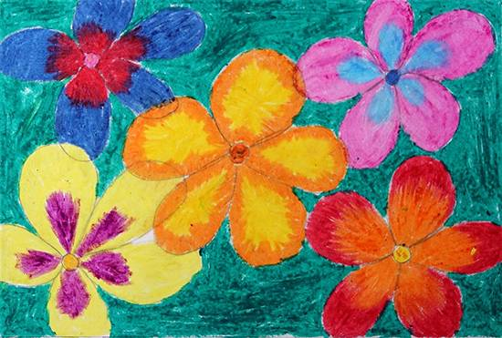 Painting  by Ravina Dadoda - Flower Art