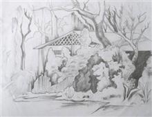 Painting  by Anmol Mishra - A beauty of Scenary