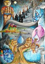 Painting  by Harsh Ghosalkar - Water Conservation for a better Tomorrow