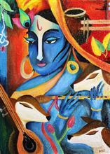 Krishna - In stock painting