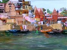 Banaras - In stock painting