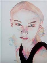 Portrait - In stock painting