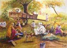 Banjare, painting by Jyoti Sharma