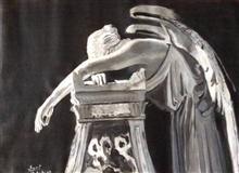Sepulchre, painting by Suvidha Joshi