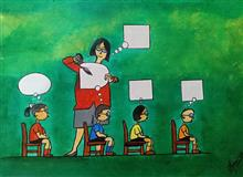 Painting  by Apoorva Dwivedi - Every student is UNIQUE