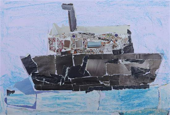 Painting  by Sohil Santosh Wandhan - Boat