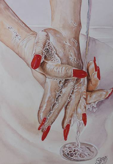 Painting  by Vipul Shete - Clean you hands
