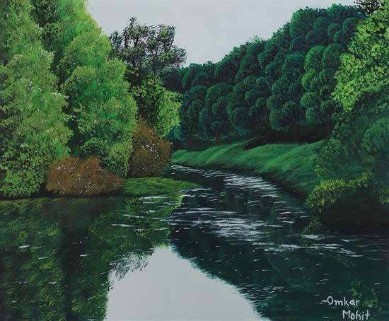 Painting  by Omkar Mohit - Natures Dream