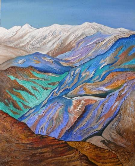 Kumaon Himalayas by Chitra Vaidya