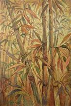 Bamboo Collection - 3, Painting by Chitra Vaidya