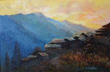 Indiaart - Hills Artwork