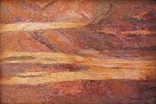 Textures at Bhimbetka - 1, Painting by Chitra Vaidya
