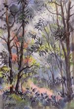 Forest Walk - 1, Painting by Chitra Vaidya