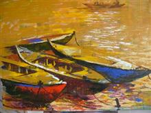Boats - In stock painting