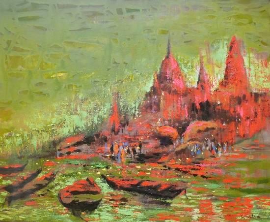 Indiaart - Banaras Artwork