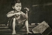 Innocence, Painting by Anjalee S Goel