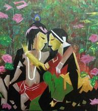 Painting by Anjalee S Goel - Pure love -  3