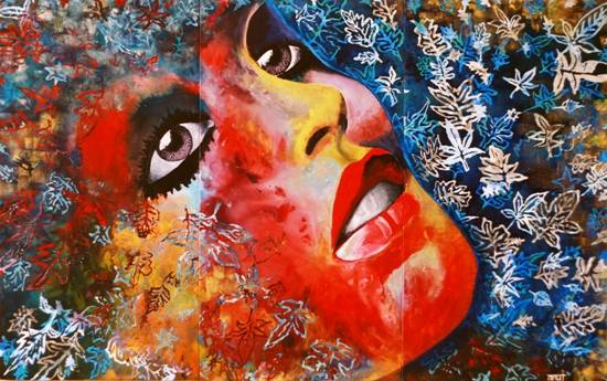 Moments (Set of 3), painting by Anuj Malhotra