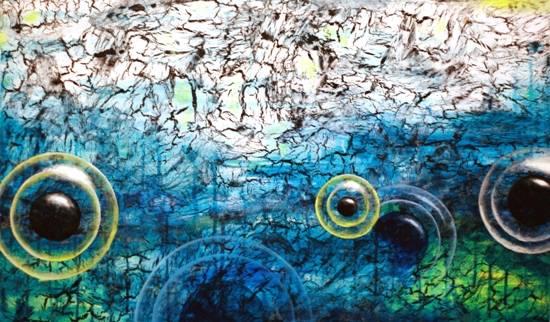 Awakening II, painting by Anuj Malhotra