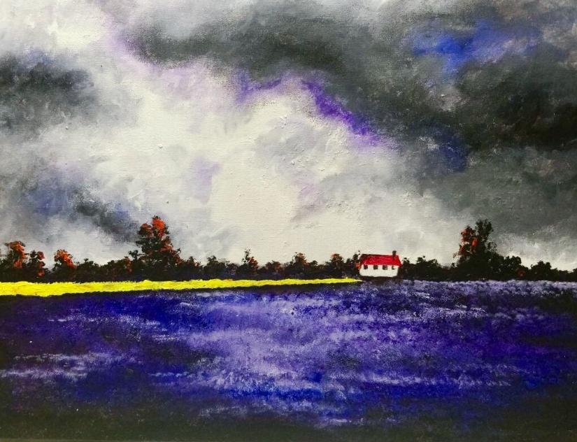 Scotland 3, painting by Anuj Malhotra