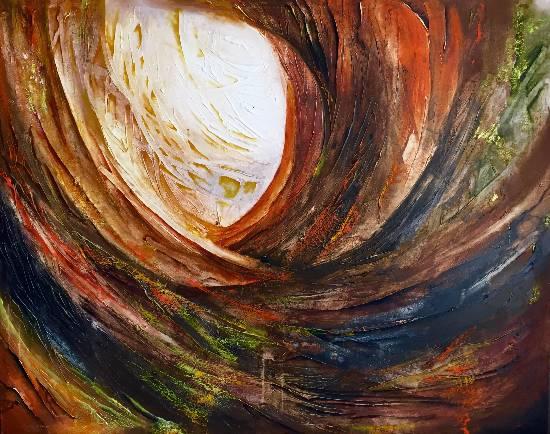 Profound, painting by Anuj Malhotra