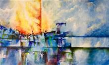 Imperfect Illusion - 1, Painting by Anuj Malhotra