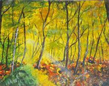 Serenity, painting by Dedeepya John