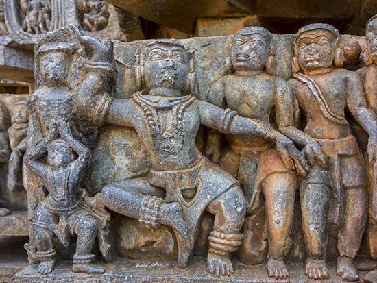 Dancing Figure at Halebidu