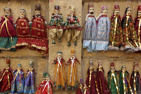 Handmade Dolls at Jaisalmer